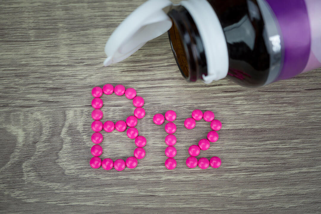oral tablets B12 for pernicious anaemia