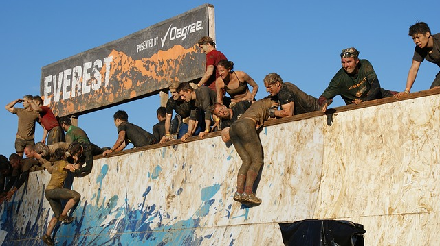 Kate Enters Tough Mudder for us