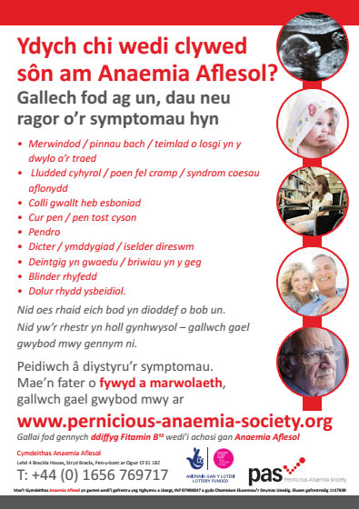 PA symptoms welsh