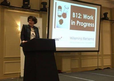 Dr Willemina Rietsema presenting