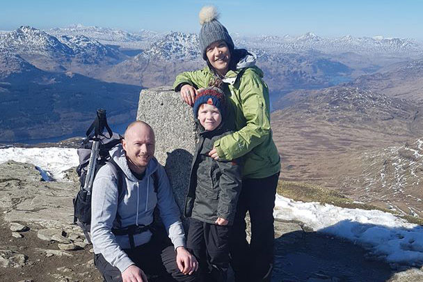 Rhona's Walking the West Highland Way for Pernicious Anaemia