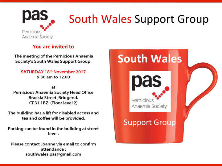 South Wales Support Group Meeting