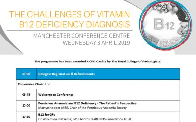 The Challenges of Vitamin B12 Deficiency Diagnosis Event