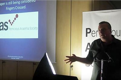 Martyn Hooper speaking
