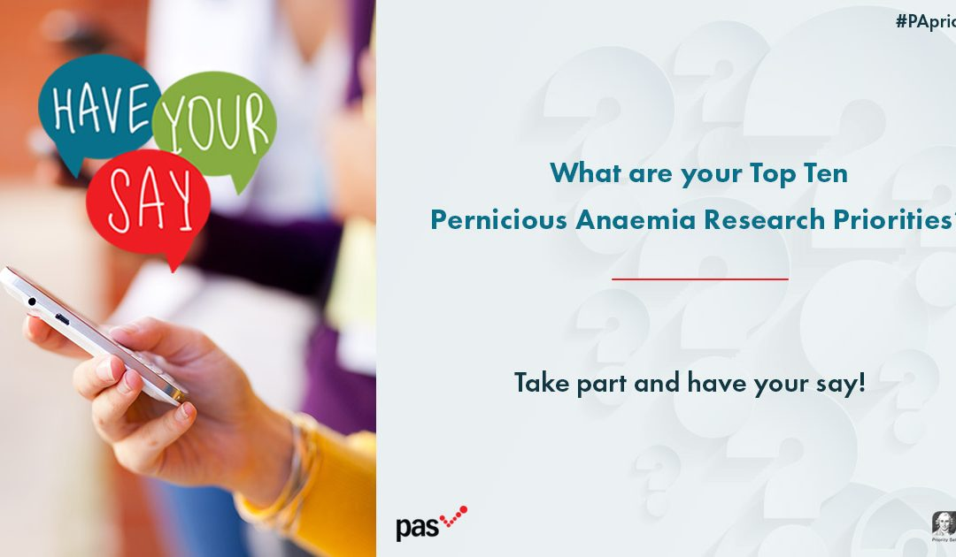 Have Your Say! Pick YOUR Top 10 PA Research Priorities